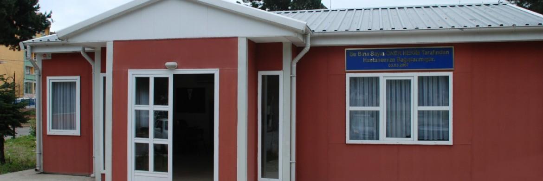 صالة الإستراحة بمستشفى قلعة الدولية بمدينة غيراسون