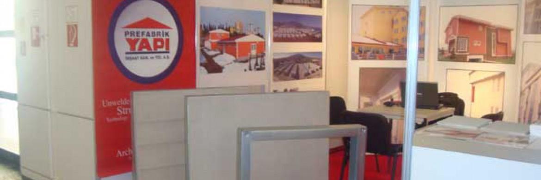 إلتحقت شركة بريفابريك يابي المساهمة بمعرض باو المؤسس في عام 2009