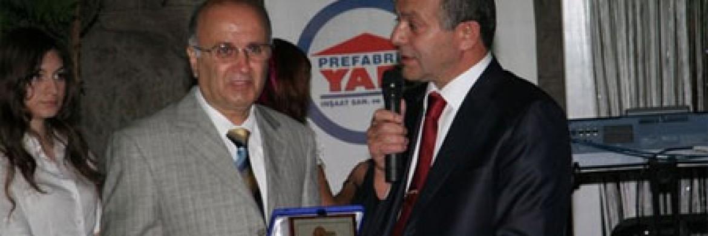 تذكار حلول العام 20 من تأسيس شركة بريفابريك يابي المساهمة