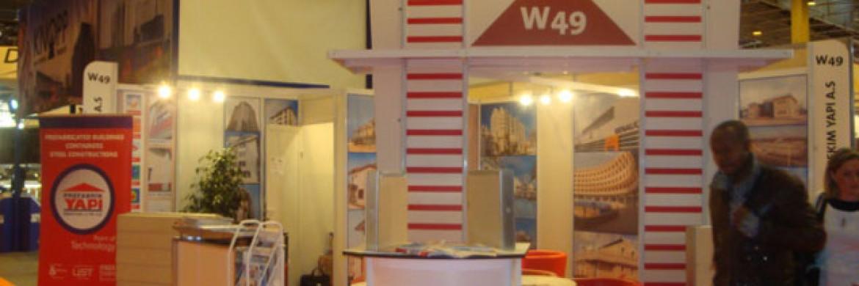 إلتحقت شركة بريفابريك يابي المساهمة بمعرض باطيماط المؤسس في عام 2009