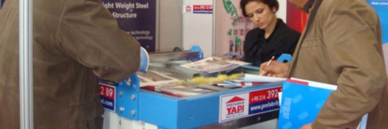 إلتحقت شركة بريفابريك يابي المساهمة بمعرض ليبيا للإنشاءات الدولي المؤسس في عام 2009