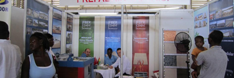 إلتحقت شركة بريفابريك يابي المساهمة بمعرض غانا بأفريقيا