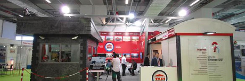 نال جناح شركتنا اعجاب فائق اثناء معرض الانشاءات بمدينة اسطنبول
