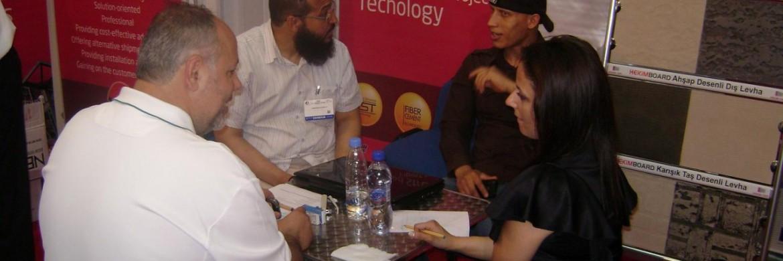 احرزت الشركة على تفوق بعد إلتحاقها بمعرض ليبيا للإنشاءات