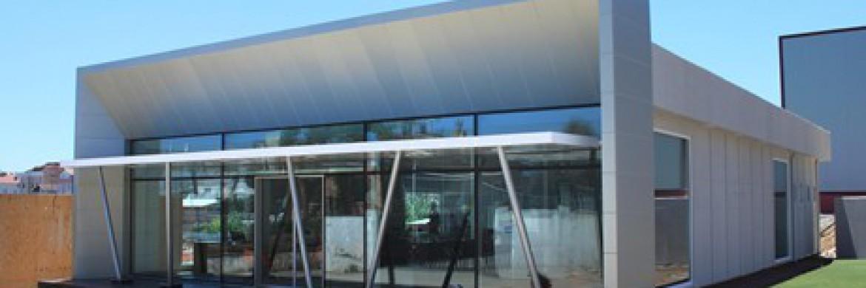 تم إضافة مبنى جديد إلى مكاتب العمل المنفذة بإتباع تقنيات حديد الصلب الخفيفة