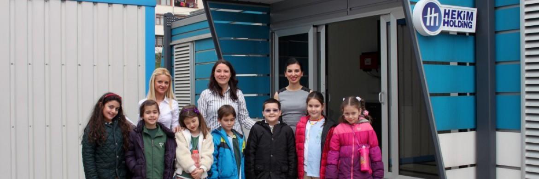 زيارة طلاب مدرسة دوغا إلى شركة بريفابريك يابي المساهمة