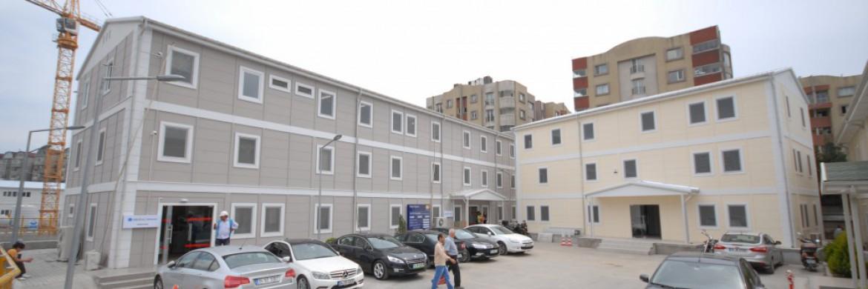 دعم من شركة بريفابريك يابي المساهمة في منشآت مشروع ساحة عمار