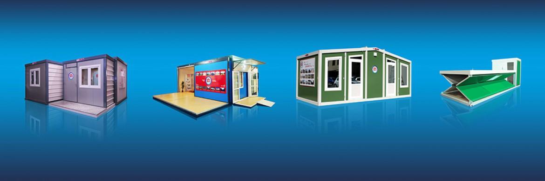 تقوم شركتنا بتطويرات موجهة إلى الحاويات المنشأة بنظام الطي وبنظام الجرار