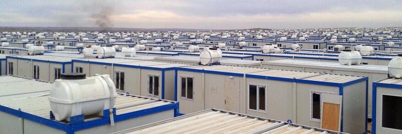 حاويات السكن الطارئة المؤسسة بالعراق