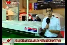 نشرة الأخبار بإذاعة [Kanaltürk] حول ممارسات شركة بريفابريك يابي المساهمة