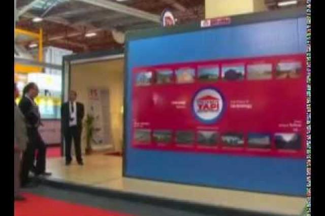 نشرة الأخبار بإذاعة [Ülke TV] حول معرض إدارة الآفات والكوارث