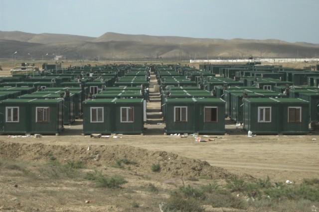 منشآت مشروع حاويات المعسكر بدولة آذربيجان