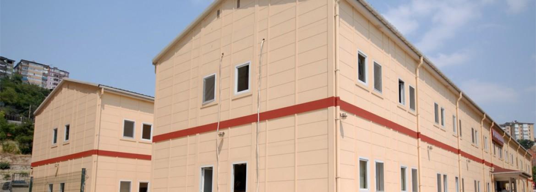 مباني حديد الصلب الخفيفة للأغراض الصحية