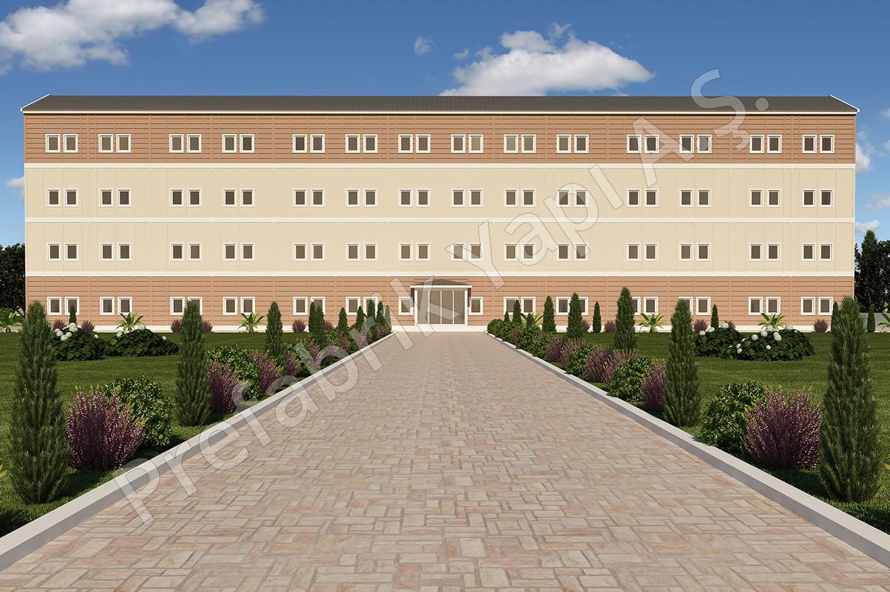 مستشفى مساحته 4340 م2 1