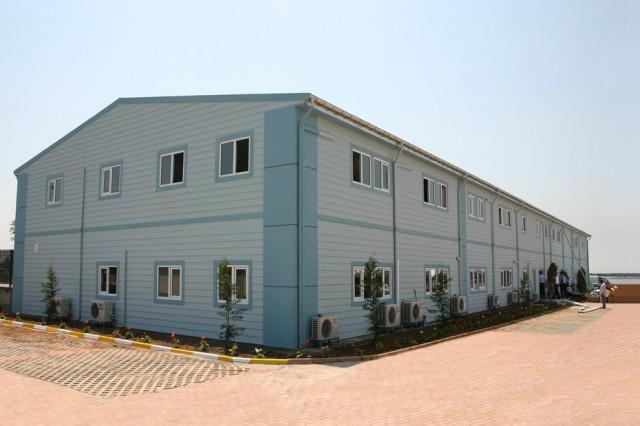 مشروع مبنى خدمات تشغيل باصات النقل البحري بمدينة إسطنبول