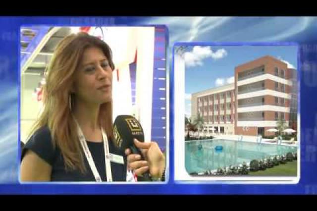 نشرة أخبار بإذاعة [ÜlkeTV] حول ممارسات شركة بريفابريك المساهمة بمعرض الإنشاءات  المنعقد في عام 2014