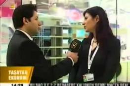 أخبار بإذاعة [Ülke TV] حول ممارسات شركة بريفابريك يابي المساهمة بمعرض الإنشاءات