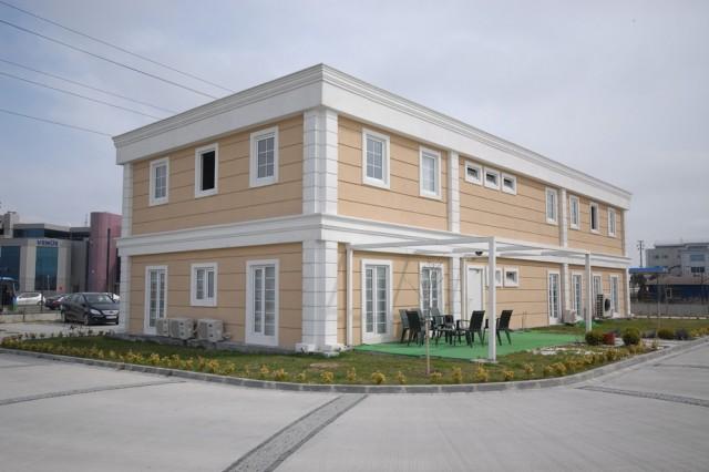 مشروع مبنى إدارة شركة س – أراس لشؤون الشحن
