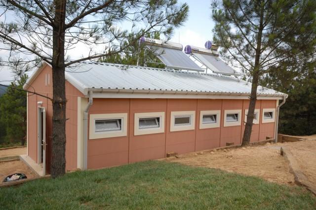مشروع معسكر الكشاف التابع لبلدية سلطان غازي