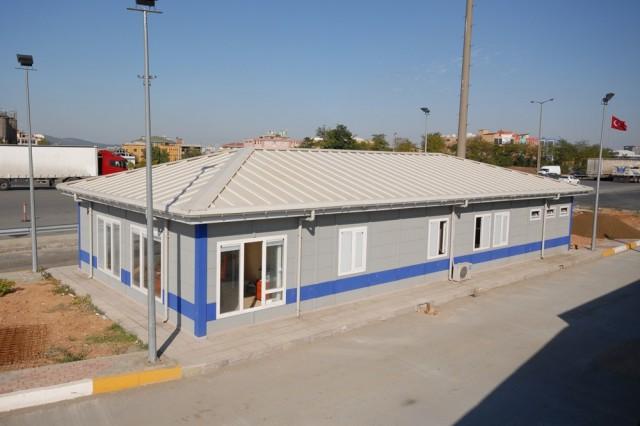 مشروع مباني محطة الفحص التابعة لوزارة المواصلات التركي