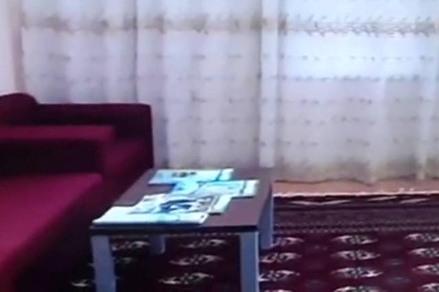 إفتتاح مباني وحدات سكن المعسكرات بحدود دولة توركمنستان
