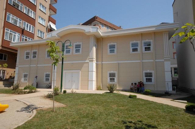 مشروع مبنى شؤون صحة العائلات ورعاية أطفال الحضانة التابع لبلدية ناحية أوسكودار