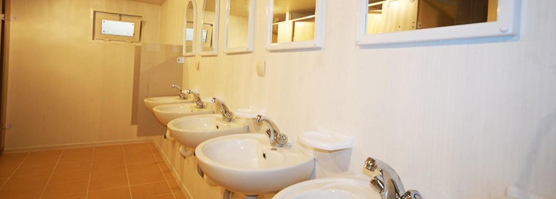 حاويات المراحيض وحمام الدش
