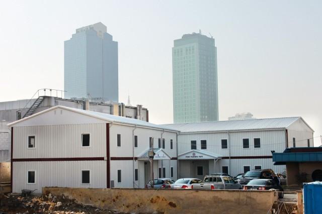 مشروع منشآت شركة تكنيك يابي بناحية ماصلاق الجديدة بمدينة إسطنبول