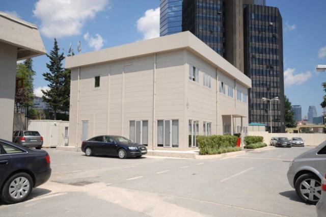 مشروع مكاتب مبيعات وحدات مركز ظورلو