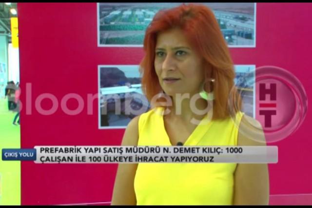 PrefabrikYapı في 39 تركيا بناء معرض [بلومبرغ HT]
