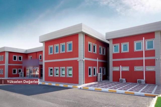 PrefabrikYapı في 39 تركيا بناء معرض [TGRT Haber]